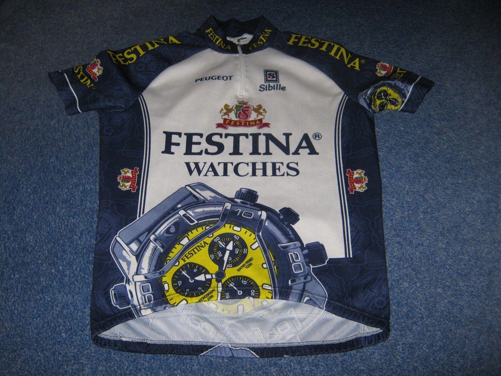 FESTINA WATCHES PEUGEOT SIBILLE ITALIAN CYCLING JERSEY [XXL]