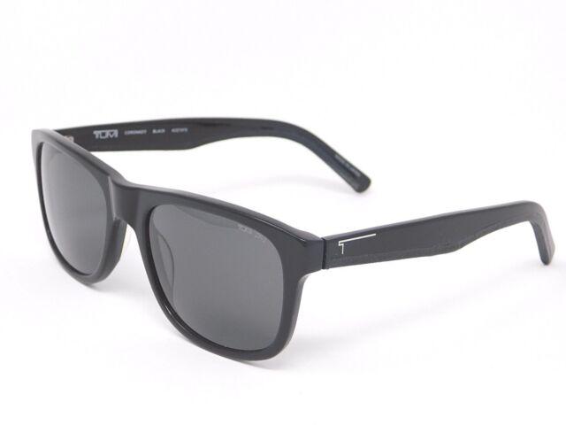 805619299bc Tumi Coronado Black Sunglasses with Carl Zeiss Polarized-ZR3 Lenses  54-19-140