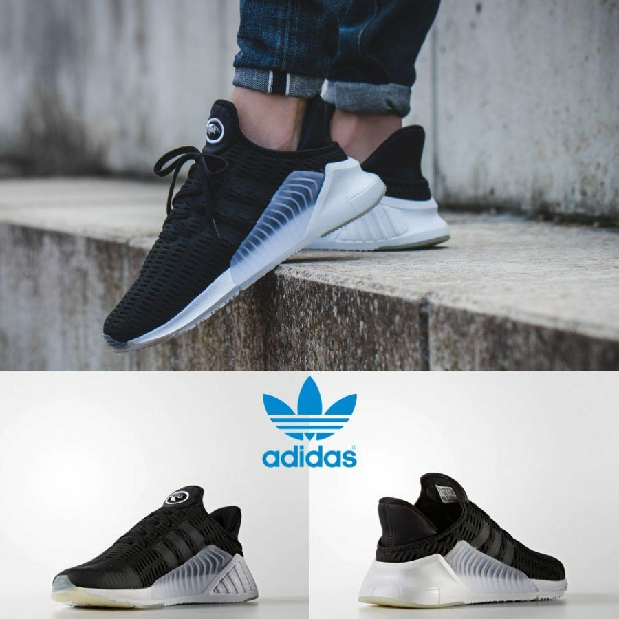 Adidas Unisex Original ClimaCool 02/17 Black Black White BZ0249 Comfortable Comfortable and good-looking
