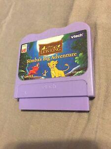 Vtech-Vsmile-Lion-King-Simba-039-s-Big-Adventure-Game-Cartridge-Disney-Interactive