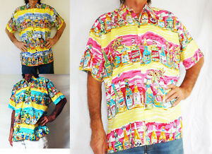 Loud Hawaiian Men S Shirt With Tropical Beer Bottles Holiday Stag