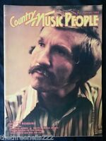 COUNTRY MUSIC PEOPLE - FEB 1983 MARTY ROBBINS