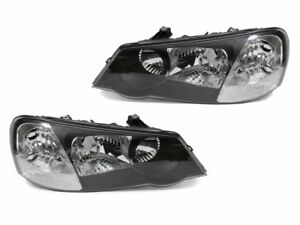 Depo Jdm D2r Xenon Black Clear Headlight Pair For 2002 2003 Acura Tl Type S 636676408743 Ebay