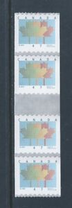 Canada-1878i-Domestic-First-Class-Rate-Coil-Gutter-Strip-of-4-MNH-Free-Shipping