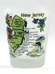 NEW-JERSEY-MAP-FROSTED-SHOT-GLASS-SHOTGLASS