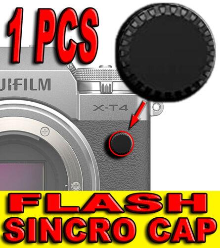 TAPPO SINCRO FLASH SYNC CAP COVER FOTOCAMERA ADATTO A FUJIFILM X-T1 X-T2 X-T3 FX