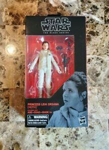 "Star Wars The Black Series Collection Princess leia organa hoth 6/"" Hasbro #75"