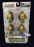 Teenage Mutant Ninja Turtles Mirage Minimates Box Set 4 Figures Tmnt on sale