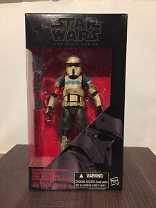 "Star Wars n ° 28 Scarif Stormtrooper Chef d'équipe 6 Star Wars #28 Scarif Stormtrooper Squad Leader 6"" Black Series"