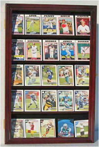 Football Baseball Basektball Hockey Card Display Case Cabinet, CC01-MA