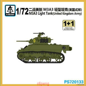 S-model-PS720133-1-72-M3A3-Light-Tank-Britain-Army-1-1-Hot