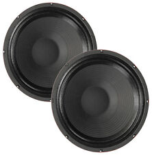 """Pair Eminence Man O War 12"""" Guitar Speaker Red Coat 8ohm 120W 102dB Replacement"""