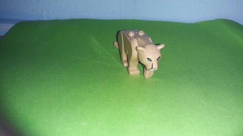 Berglöwe wie aus 60174 Löwe Raubkatze Zoo Dschungel NEU 100/% Lego kompatibel