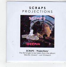 (FL795) Scraps, Projections - 2013 DJ CD