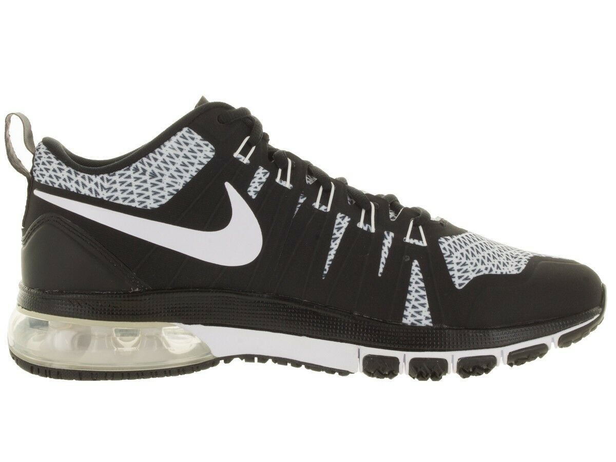 Size 15 Nike Men Air Max TR180 Amp Shoes 723973 016 Black White