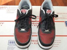 cheap for discount 12af9 46364 item 8 NIKE Air Force One AF1 Size 9 Mens Red Black Gray 488298-062  Sneakers -NIKE Air Force One AF1 Size 9 Mens Red Black Gray 488298-062  Sneakers