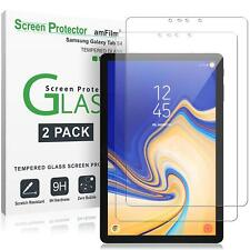 Samsung Galaxy Tab S4 amFilm Premium Tempered Glass Screen Protector (2 Pack)