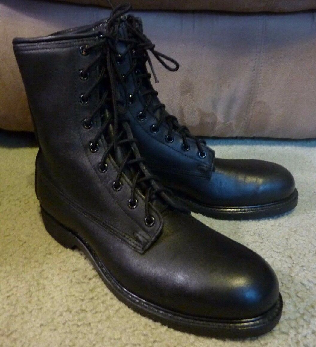 SZ 8 VINTAGE 1987 COVE SHOE COMPANY MADE IN IN IN USA MILITARY WORK BOOTS NOS 764b44