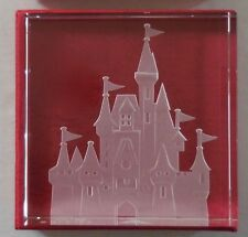 Disney's Robert Guenther Cinderella's Castle Etched Paperweight