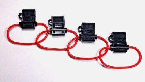 4 Scorpion Heavy Duty Waterproof Fuse Holders for Blade Fuses ATC