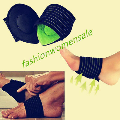 Feet Protect Pain Arch Support Cushion Footpad Run Up Pad Foot Health Care FUS
