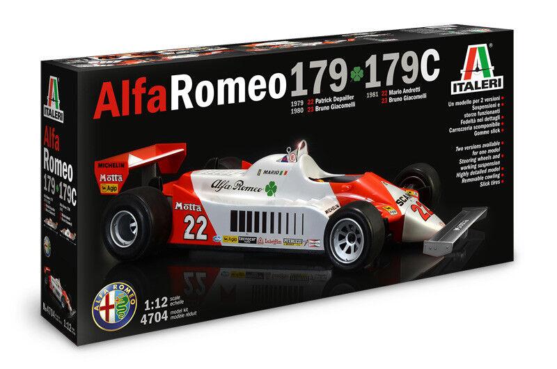 Italeri 1 12 Alfa Romeo 179-179C