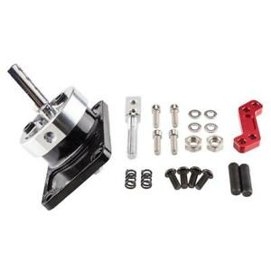 ALUMINUM MANUAL RACING SPORT SHORT QUICK SHIFTER RED FOR 83-04 FORD MUSTANG W//OD
