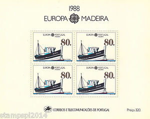 PORTUGAL-MADEIRA-EUROPA-CEPT-1988-MNH
