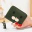 thumbnail 14 - Girls Womens Small PU Leather Short Wallet Cards Holder Coins Purse Lady Handbag