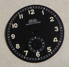Reloj de tipo militar GEWA Dial, Anker 15 Supervision, 31 mm de diámetro.