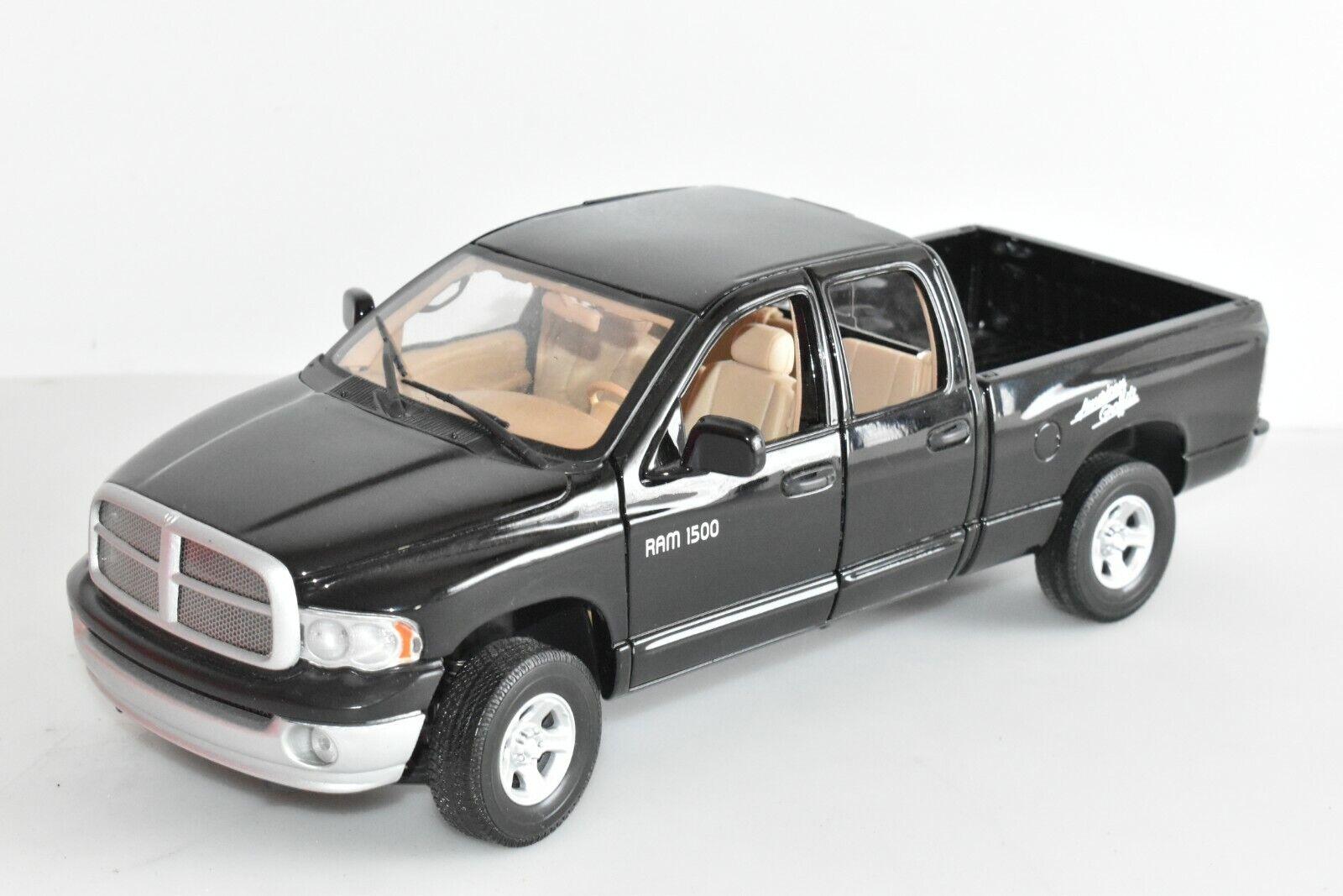 MOTOR Max DODGE RAM 1500 Nero 1 18 senza imbtuttiaggios3
