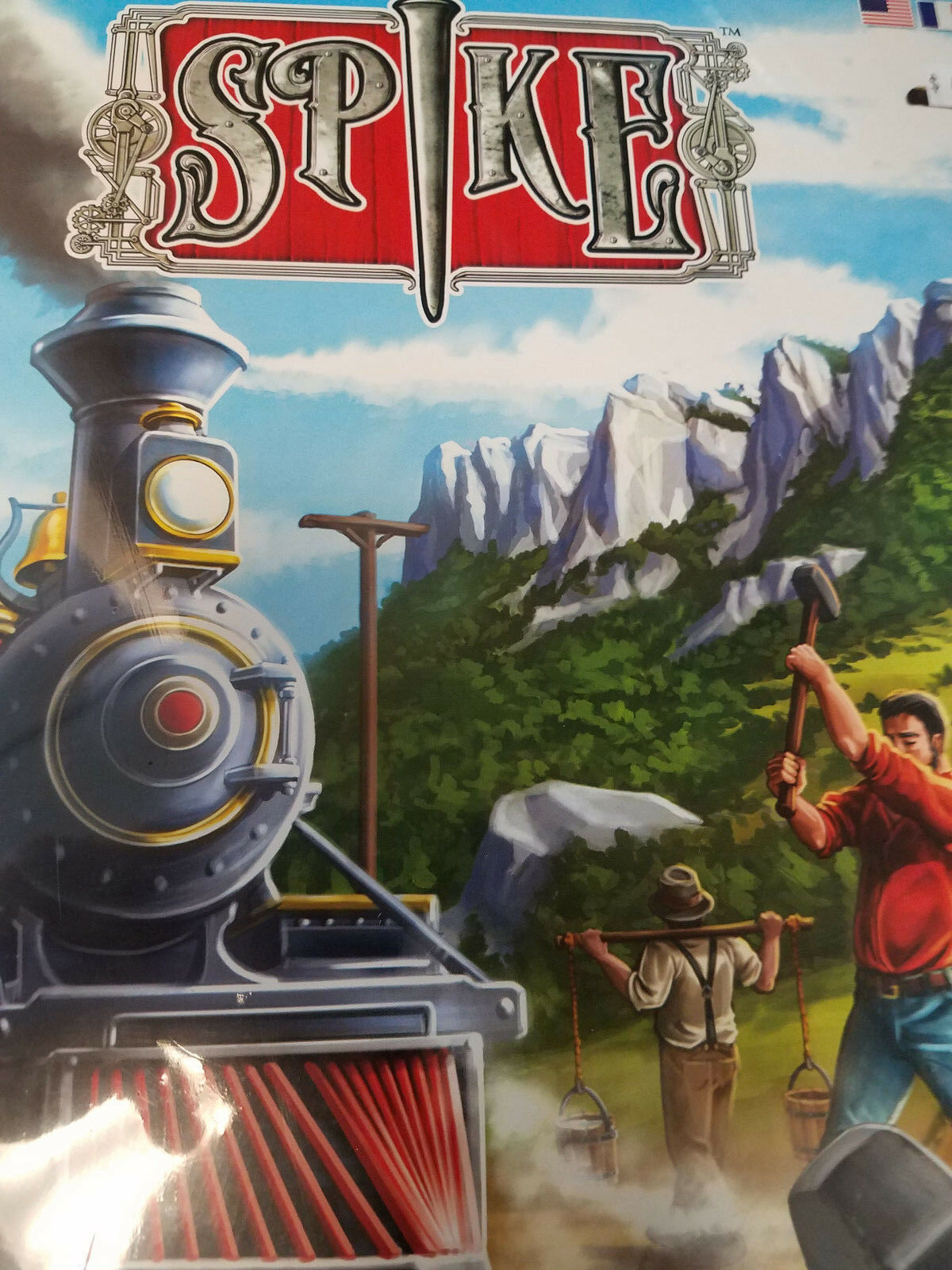 Spike-R & R Games chemin de fer jeu de plateau NEUF