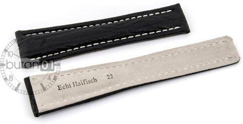 Haifisch Bracelet De Montre compatible convenable BREITLING Fermoir papillon