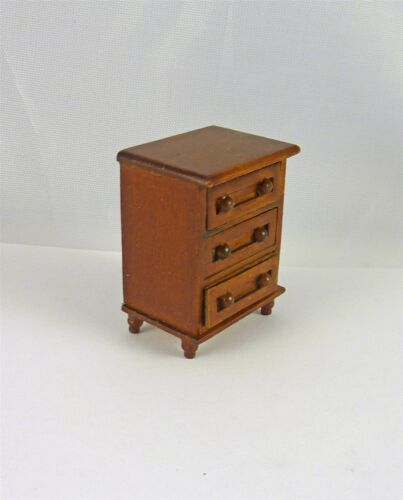 A231.5 Dollhouse Miniature HALF SCALE 1:24 Spice Small Dresser