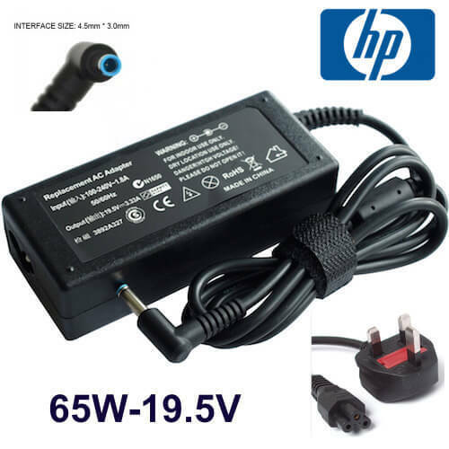 HP Notebook PC 250 G5 Laptop Power AC Adapter Charger 65W 3.33A 19.5V