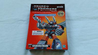 *** Transformers Riemettere Silverstreak Nuovo In Scatola Sigillata ***-mostra Il Titolo Originale Per Farti Sentire A Tuo Agio Ed Energico
