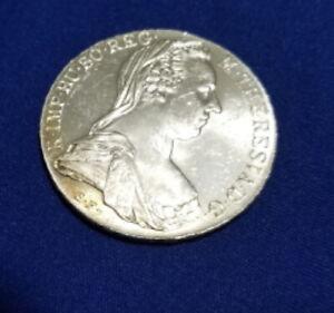 Stunning-1780-Austria-Maria-Theresa-Thaler-Restrike-Silver