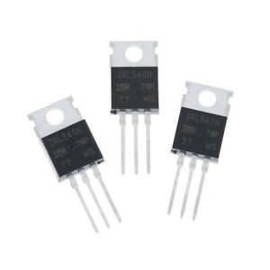 10Pcs-New-IRL540-IRL540N-power-MOSFET-TO-220-fw