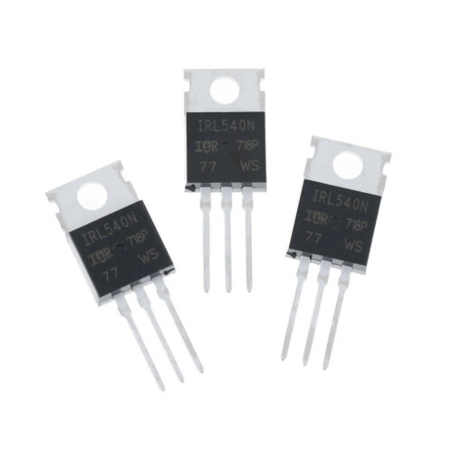 10Pcs New IRL540 IRL540N power MOSFET 2JBGVUS JQ