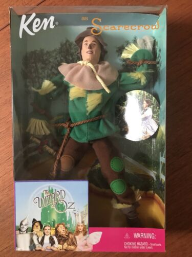 Barbie KEN As Scarecrow Doll The Wizard Of Oz 1999 Mattel #25816
