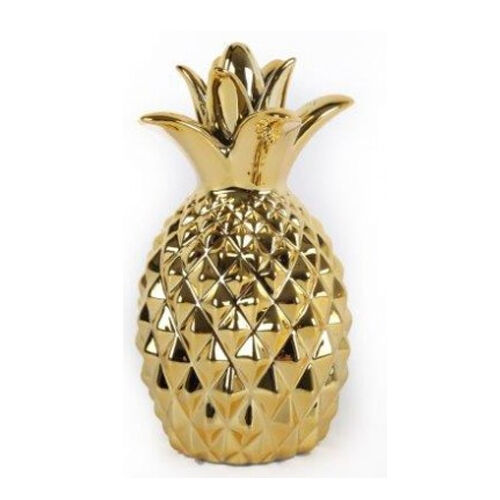 Pineapple ornament fruit modern gold decorative item home for Modern home decor objects