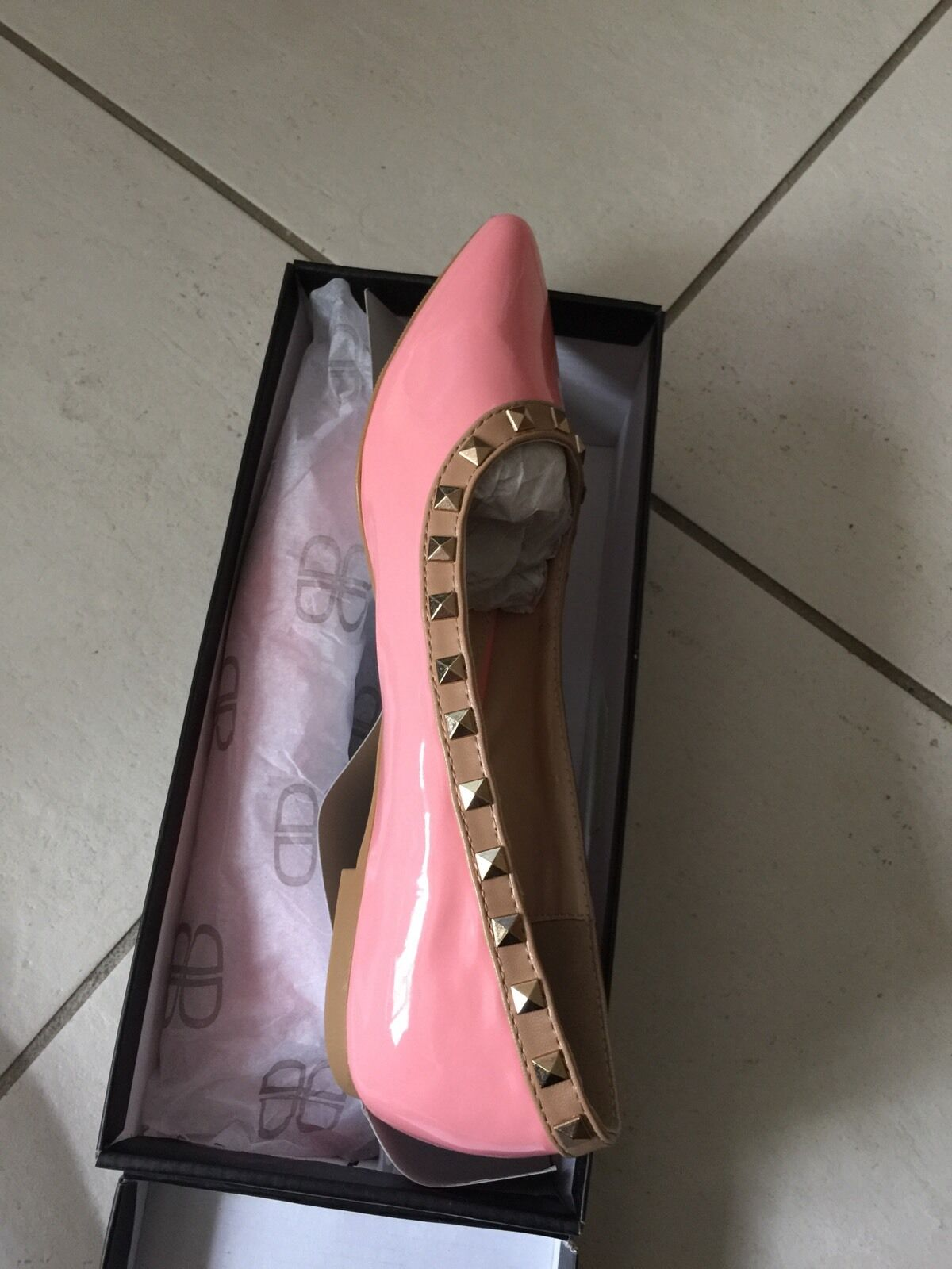 Women's flat shoes new size 8 pink brand new shoes 446d53