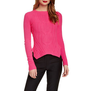 ad60e58863f9f9 Ted Baker London | The 'Daisuma' Cable Engineered Sweater Hot Pink ...