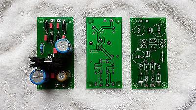 DIY PCB Board - Tube Amp - LV Tube Heater DC Power Supply - 6.3VDC from 6.3VAC