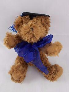 Hallmark-Brown-Teddy-Bear-Graduation-Graduate-Plush-8-034-Stuffed-Animal