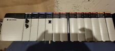 New Listingallen Bradley Control Logix 13 Slot Plc Rack 1756 Pa72b Loaded