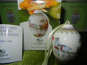 Hutschenreuther-the-Egg-Porcelain-Jahresei-Easter-Egg-1994-Meine-Pos-No-4