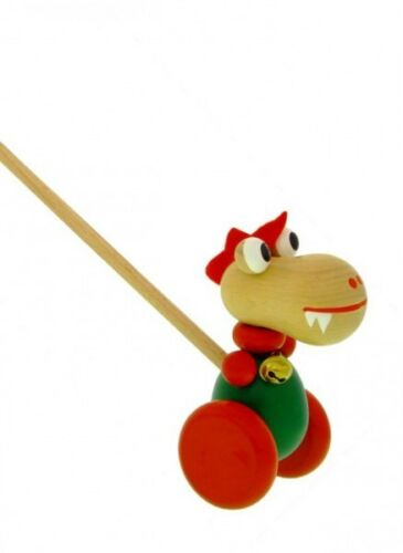 Schiebetier Drache Ulli von HOBEA-Germany Holzspielzeug Spielzeug