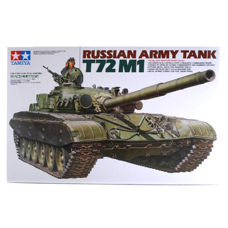 TAMIYA 35160 Russian Army Tank T72M1 1 35 Military Model Kit