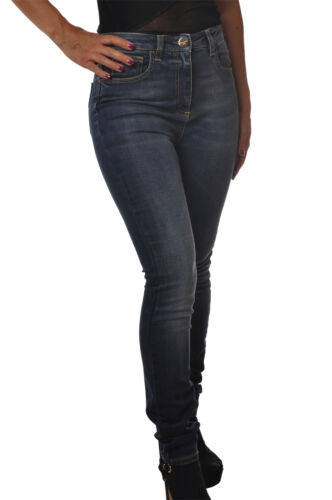 Elisabetta Franchi Slim Donna Jeans gamba stretta blu 872